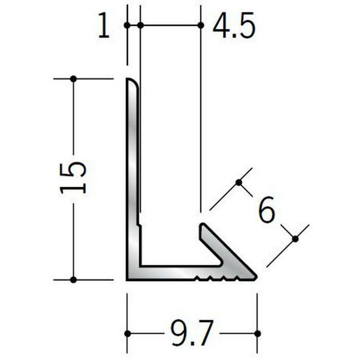 入隅ジョイナー アルミ ム型4.5 シルバー 2.73m  55003