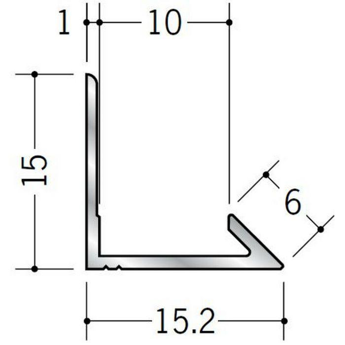 入隅ジョイナー アルミ ム型10 シルバー 2.73m  55007