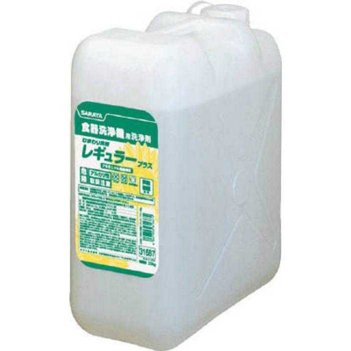 31687 ひまわり洗剤レギュラープラス25Kg