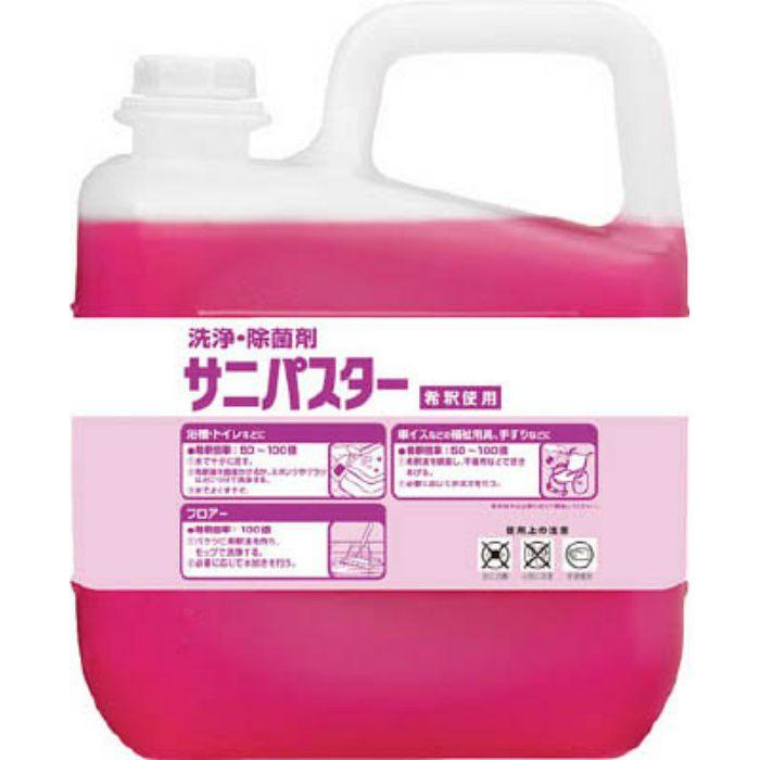 31886 洗浄・除菌剤 サニパスター 5Kg