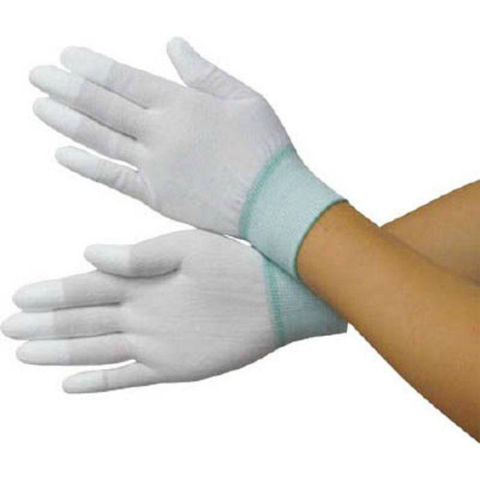 BSCSM110S PU指先コートポリエステルニット手袋S (10双入)