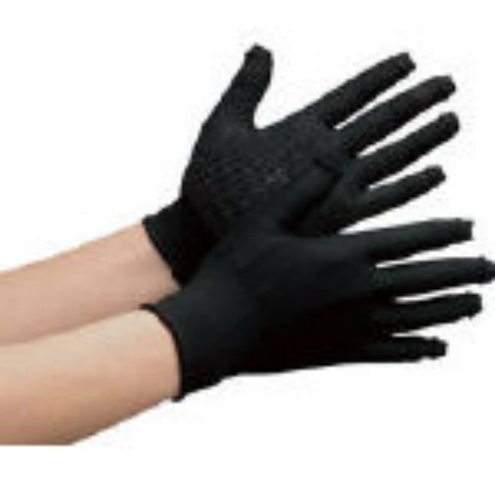 STCHBKL 指先スライド手袋 スライドタッチ ブラック L