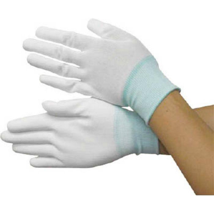 BSCSM120L PU手の平コートポリエステルニット手袋L (10双入)