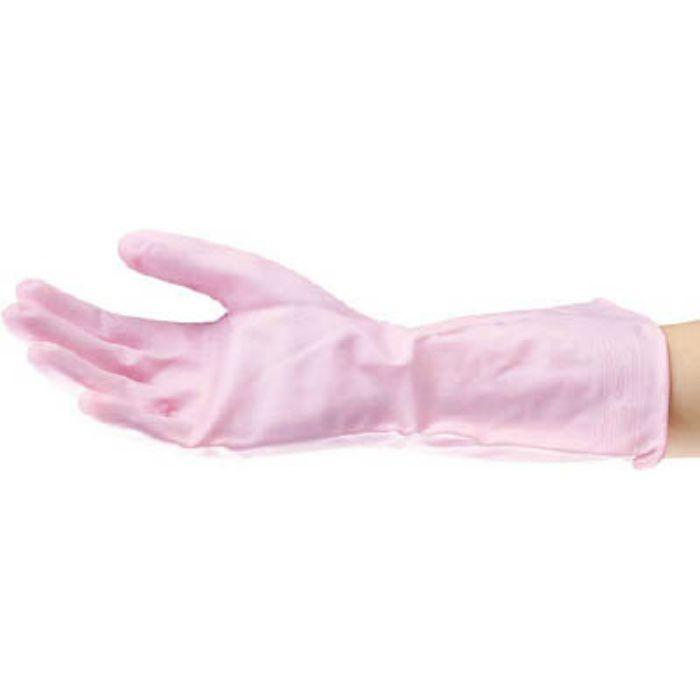 6355 ビニールうす手 裏毛なし M ピンク