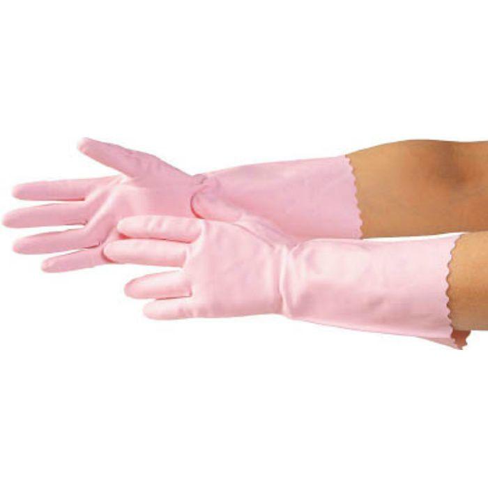 7628 清掃用手袋 L ピンク