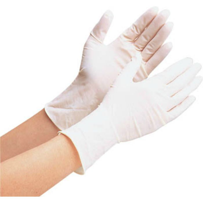 【入荷待ち】VERTE600NL 天然ゴムディスポ手袋 Lサイズ (100枚入)
