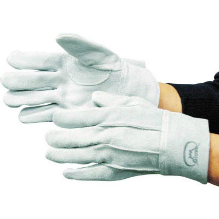 1409 牛床革手袋 #6フジマーク LL
