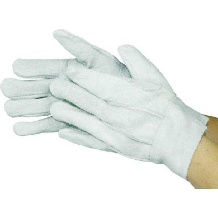 480LL 牛床革背縫い内綿手袋 LL