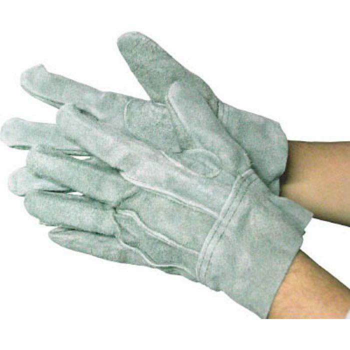 5336 牛床革手袋 オイル661 オイル内綿背縫い