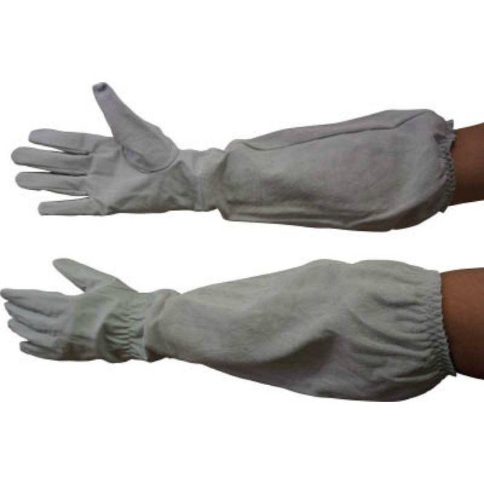 55698 肘まで長~い革手袋 M