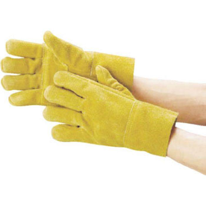 T2 防振手袋 天然牛床革製