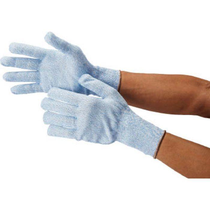 4475 耐切創手袋 サミテックX6 S ブルー