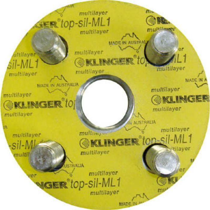 ML110K50A フランジパッキン(5枚入り) ML1-10K-50A
