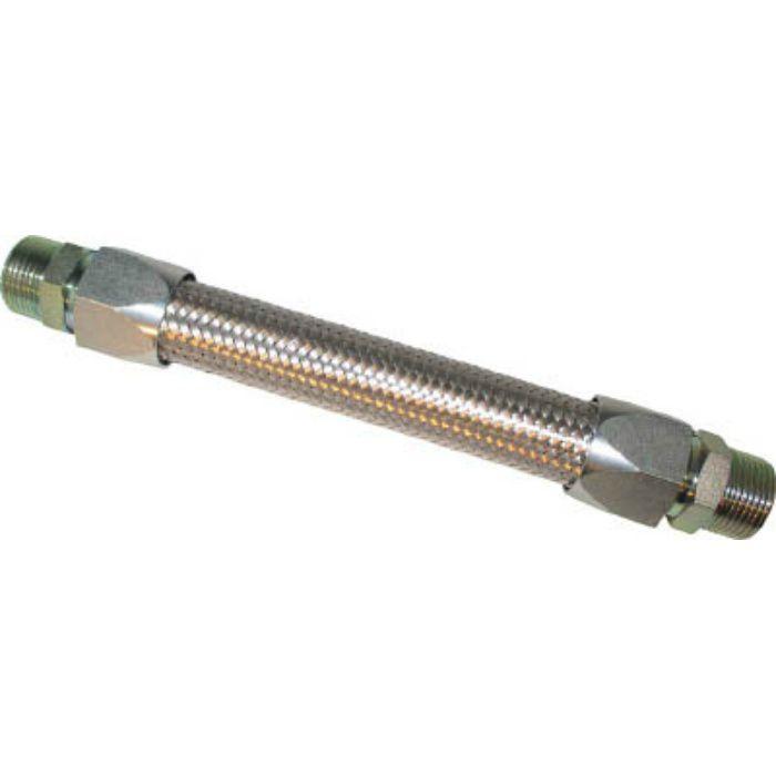 NK34025500 メタルタッチ無溶接式フレキ ニップル鉄 25A×500L