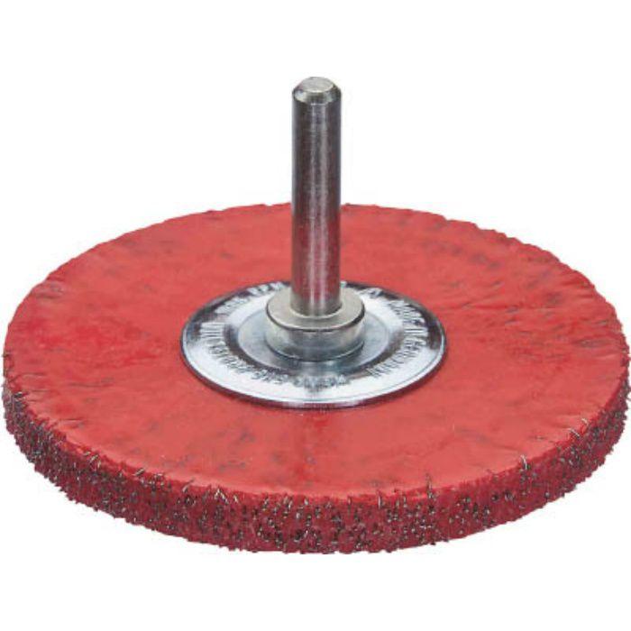 415160 セーフティ軸付ホイルブラシ 鋼線 0.3 φ50