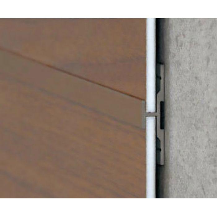 エバーアートボード部材 センタージョイント 平目地ジョイント 薄型 クリアシルバー