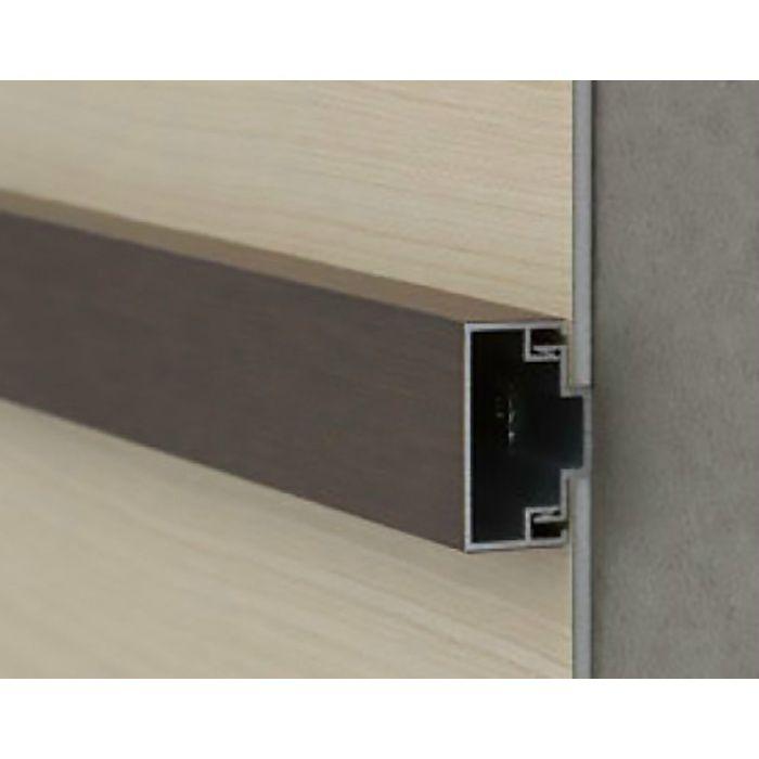 エバーアートボード部材 押え縁30×15センター ダークパイン