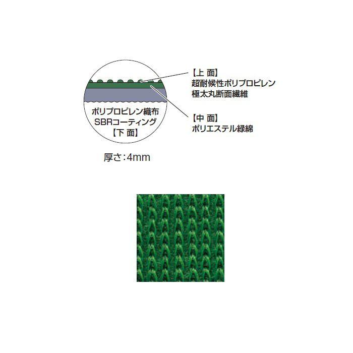 グリーングラウンドシート 防草・植栽シート NBA-1220GS 94964900