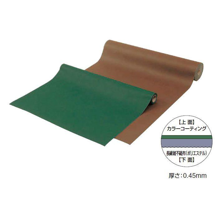 カラー防草・植栽シート 100m巻 TBB-100G 50686600 グリーン