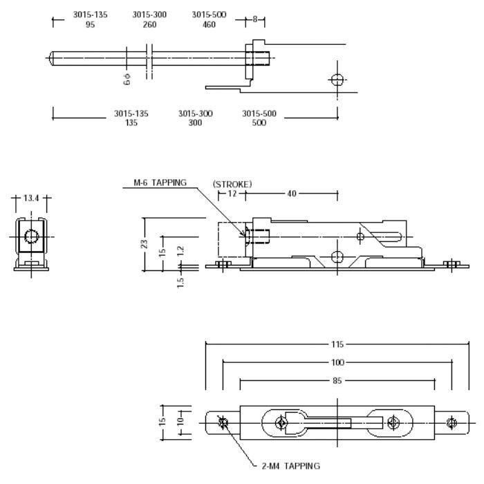 小型フランスオトシ 3015-300【壁・床スーパーセール】