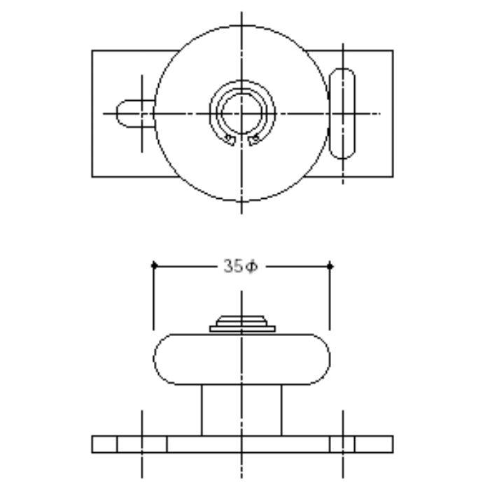 ガイドローラー 1025-35