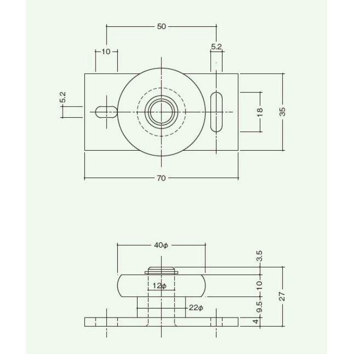 ガイドローラー 1025-40