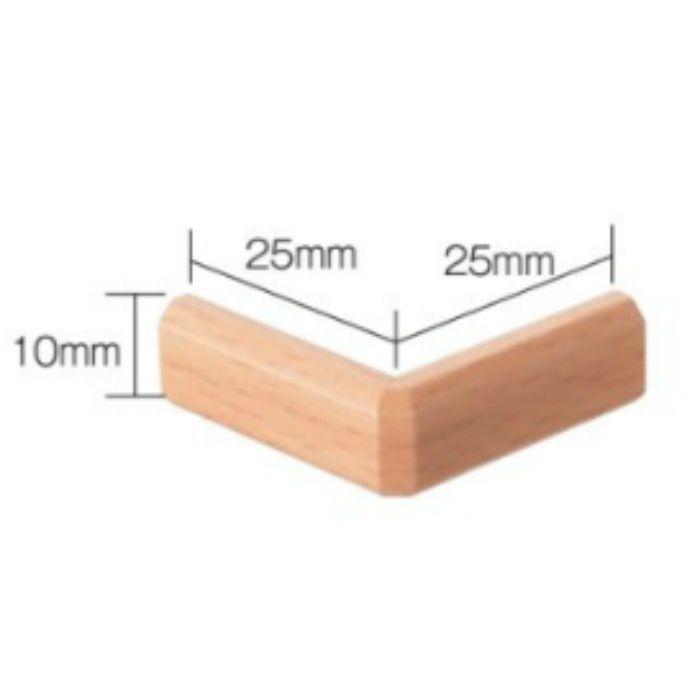 SJ-12-3 出隅材 10mm巾 木目ナチュラル スマートジョイナー