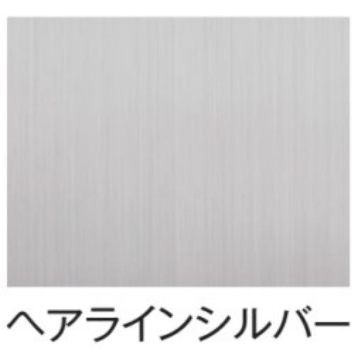 SJ-17-3 出隅材 10mm巾 メタリック_ヘアラインシルバー スマートジョイナー