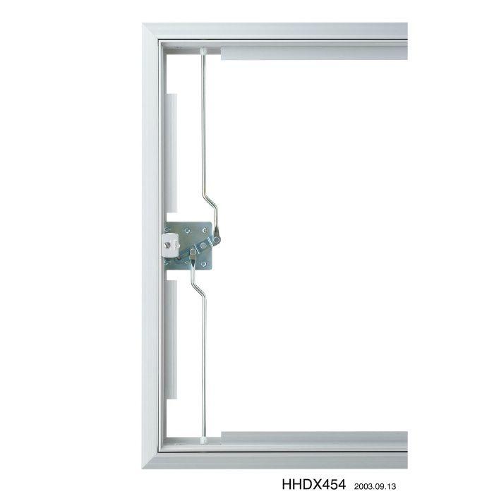 HHDX-3060-MG シルバー ハイハッチ アルミ天井点検口 DXタイプ MG(目地・額) 303mm×606mm