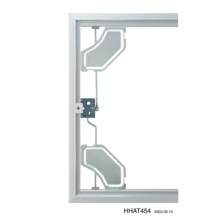HHAT-606 シルバー ハイハッチ アルミ天井点検口 ATタイプ【壁・床スーパーセール】