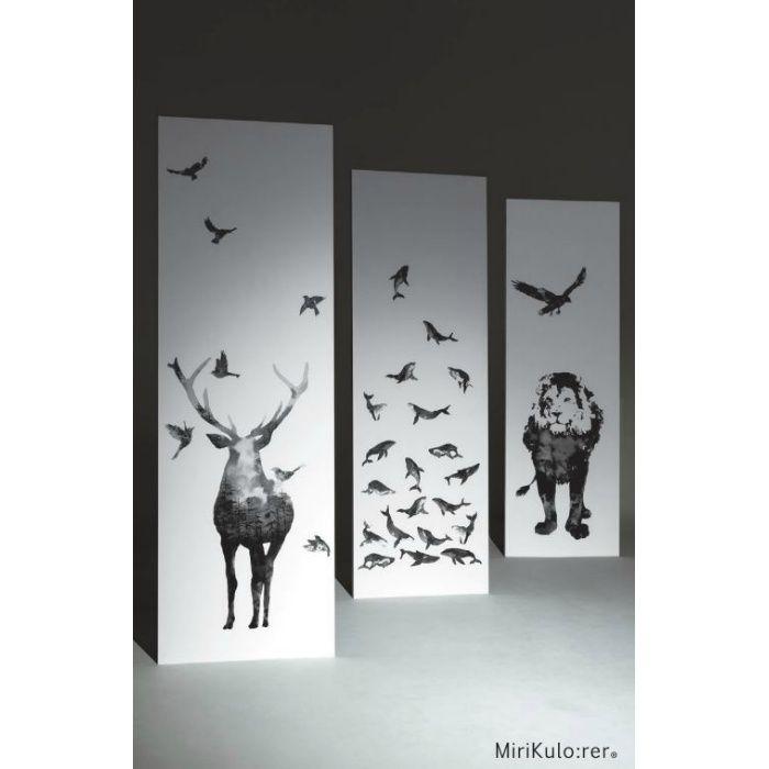 RPS-1943 ミリクローレル インクジェット壁紙 動物