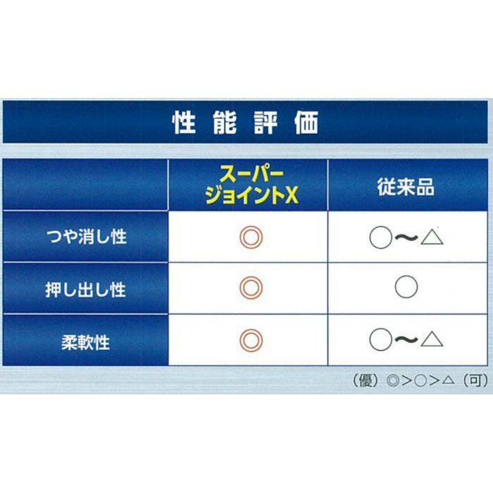 スーパージョイントX ホワイト 500g 6本/小箱