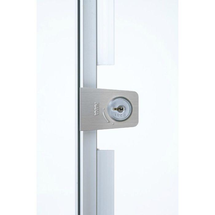 HHMMIIf-K606 シルバー ハイハッチ鍵付 アルミ天井点検口 MMIIタイプ
