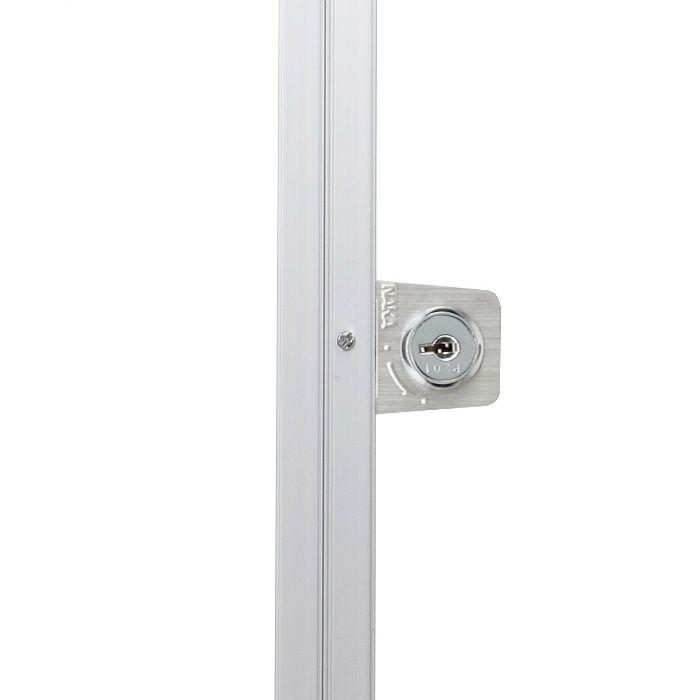 HHNT-K454 シルバー ハイハッチ鍵付 アルミ天井点検口 NTタイプ