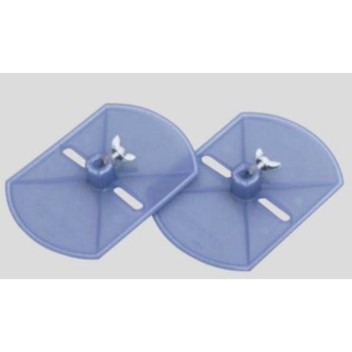 自動壁紙糊付機 アクセサリー 蝶ネジ式サイド盤(テープ用) 99-3051