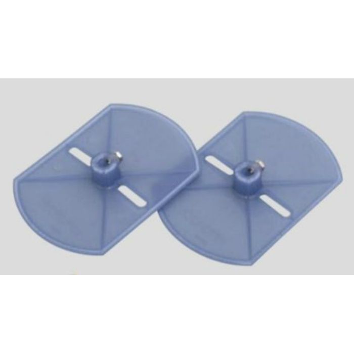 自動壁紙糊付機 アクセサリー プランジャ式サイド盤(テープ用) 99-3052