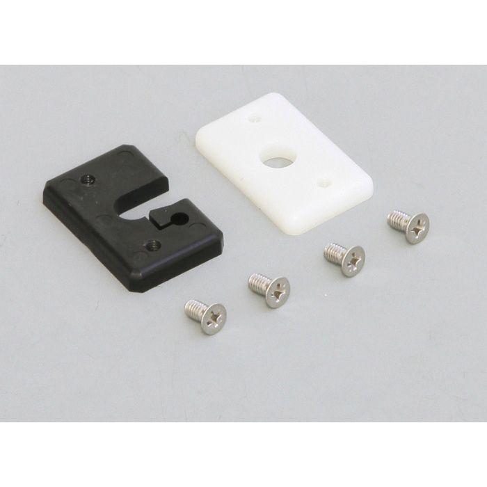 自動壁紙糊付機 アクセサリー ローラー受けセット(7mm厚) 99-1030