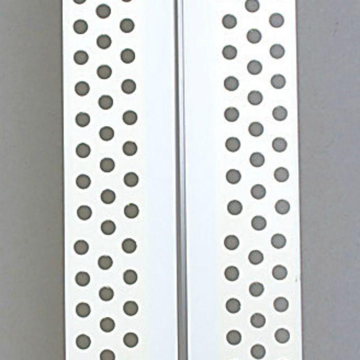 コーナー下地補強テープ HIPS コーナーテープ 60mm 幅 糊付 3列穴 12-7118