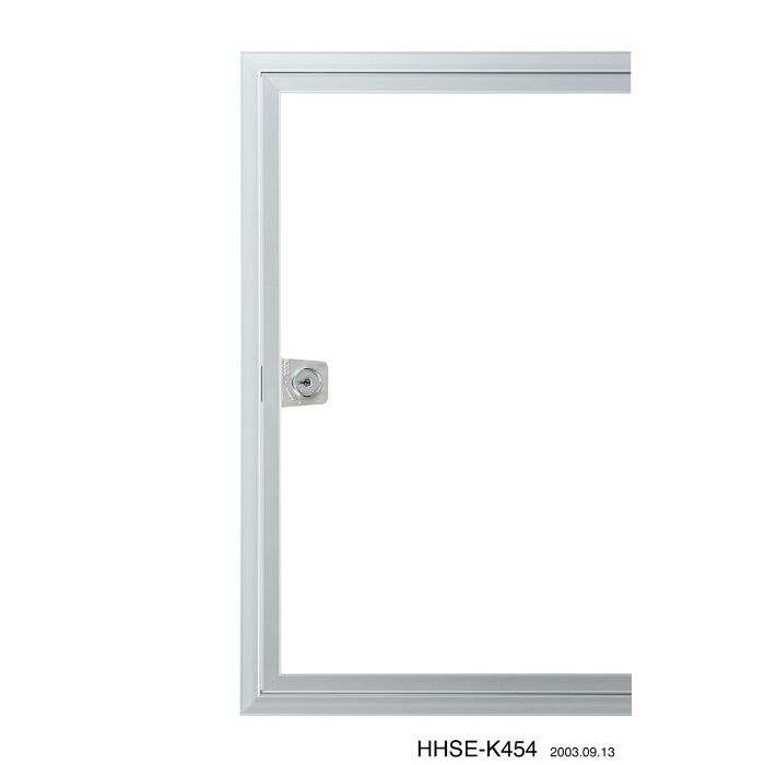 HHSEII-K606 シルバー ハイハッチ鍵付 アルミ天井点検口 SEIIタイプ【壁・床スーパーセール】