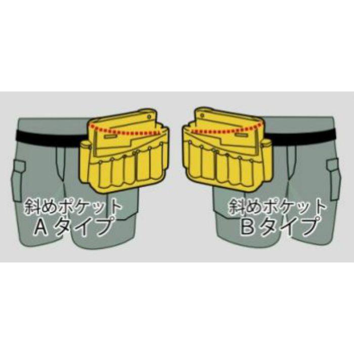 腰袋 ツールバック B ブラック 11-8131