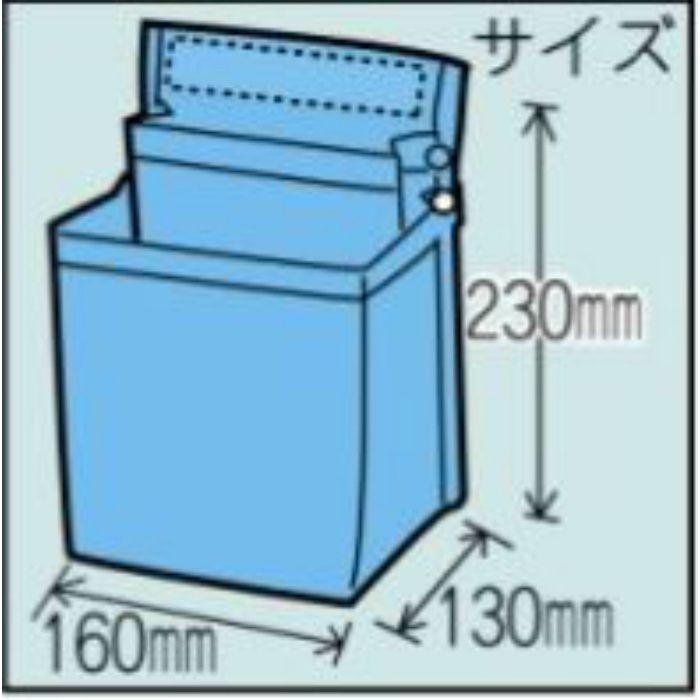 腰袋 スポンジバック ブルー 12-8030