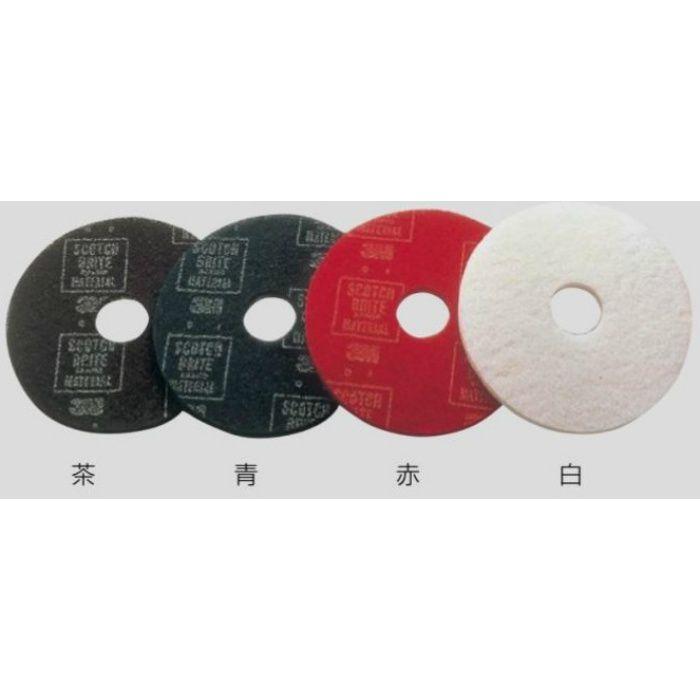 ポリッシャー 保守用(赤色)パット 12インチ用 24-8152