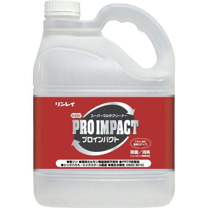 洗剤 NEWプロインパクト 4L 24-8918