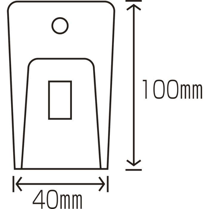 グラススクレッパー 替刃5枚付 15-2698