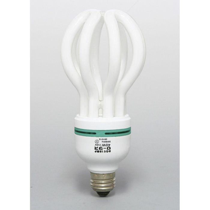 作業灯 蓮型蛍光球 40W 53-6019