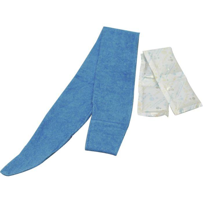 スポットクール 冷や冷やクールネック ブルー 63-9163