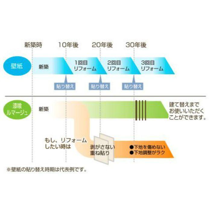 TLS1302 漆喰ルマージュ ラフ 12.5m/巻