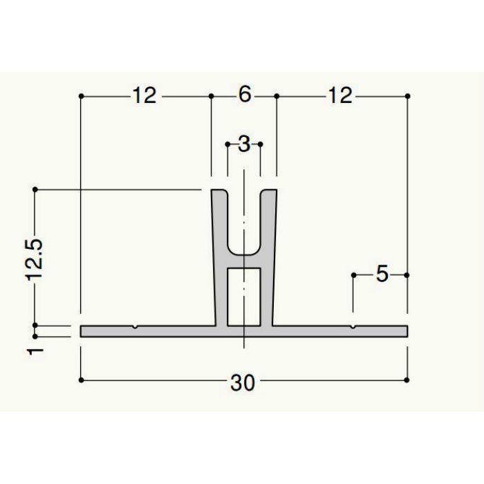 クロス目地3-12 CM312 2.8m ミルキーホワイト 100本/ケース