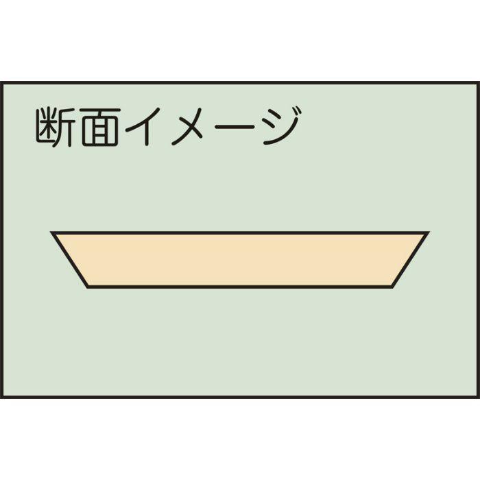 斜めカット ジョイント定規 445mm 61-3044