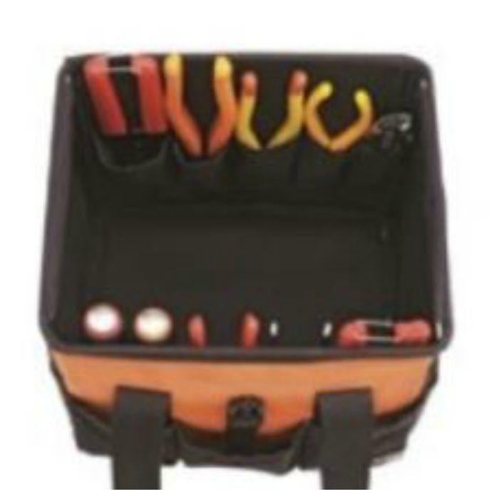 工具バック ツールバッグテイストTBT-2700 オレンジ 63-8225